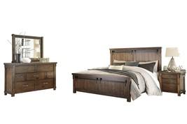 Ashley Lakeleigh 4PC Bedroom Set E King Panel - Brown - $2,500.19