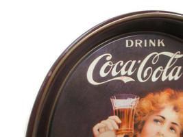 Coca-Cola Commemorative Tray 75th Anniversary Coca-Cola Bottling Works T... - $4.95