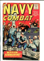 NAVY COMBAT #19-1958-ATLAS-JOE MANEELY-DON HECK-WWII-vg - $49.18