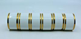 Noritake Heritage Contemporary Fine China Napkin Ring Gold 2982 Japan Se... - $106.84