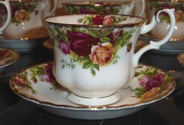 Royal Albert Old Country Rose Cup And Saucer - $23.00