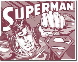 Superman Duotone DC Universe Villains and Super Hero Metal Sign - $20.95