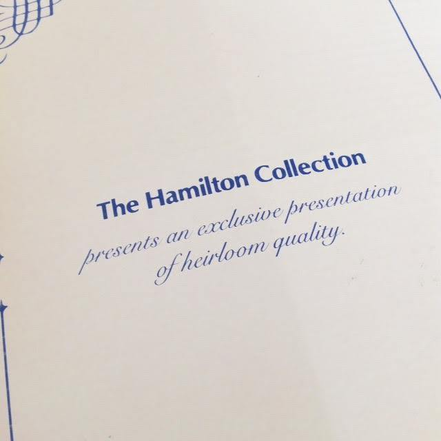 NEW Collectible Hamilton Collection Charity Angel Doll Porcelain Phyllis Perkins