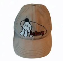 Mickey Mouse Base Ball Snap Back Cap Hat Beige Goofy's Hat Co. Disney - $19.62