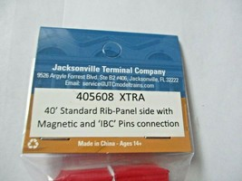 Jacksonville Terminal Company # 405608 XTRA 40' Standard Container N-Scale image 2