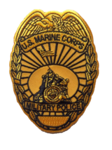 USMC Military Police Badge Patch & Sticker - $9.89
