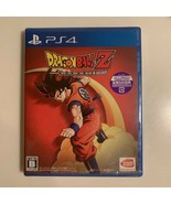 PS4 Dragonball Z Kakarot Playstation 4 Dragon Ball Action Game From Japan - $98.99