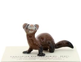 Hagen-Renaker Miniature Ceramic Figurine Ferret Sitting