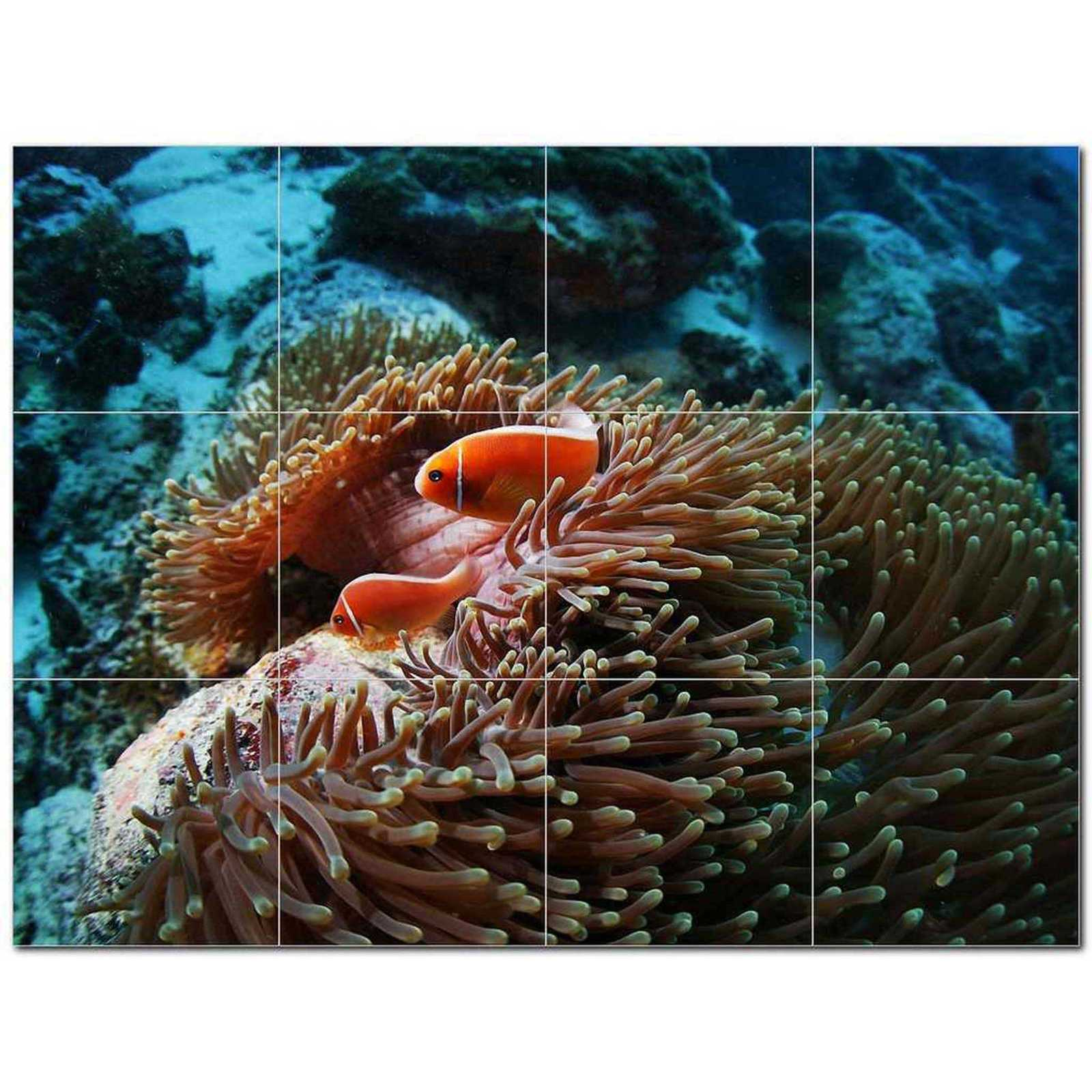 Primary image for Sealife Picture Ceramic Tile Mural Kitchen Backsplash Bathroom Shower BAZ405831