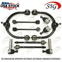 10pc JPN Upper Control Arm Tie Rod End Ball Joint For Jeep Commander 2008-2010 - $160.87