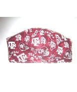 Handmade Face Mask Cotton Texas A&M Adult3 Layer Non Woven Interfacing Washable  - $10.99