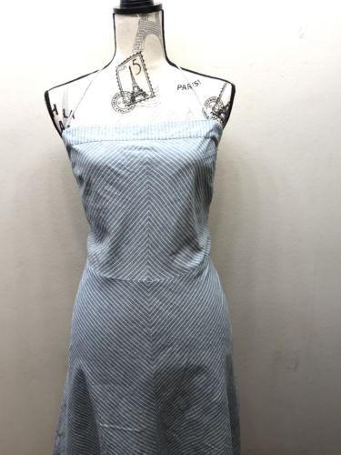 AE American Eagle Purple /& Blue Stripe Short Sleeve Knit Dress NWT! MEDIUM!