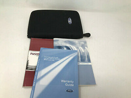 2010 Ford Fusion Owners Manual Handbook Set with Case OEM Z0A262 - $38.39