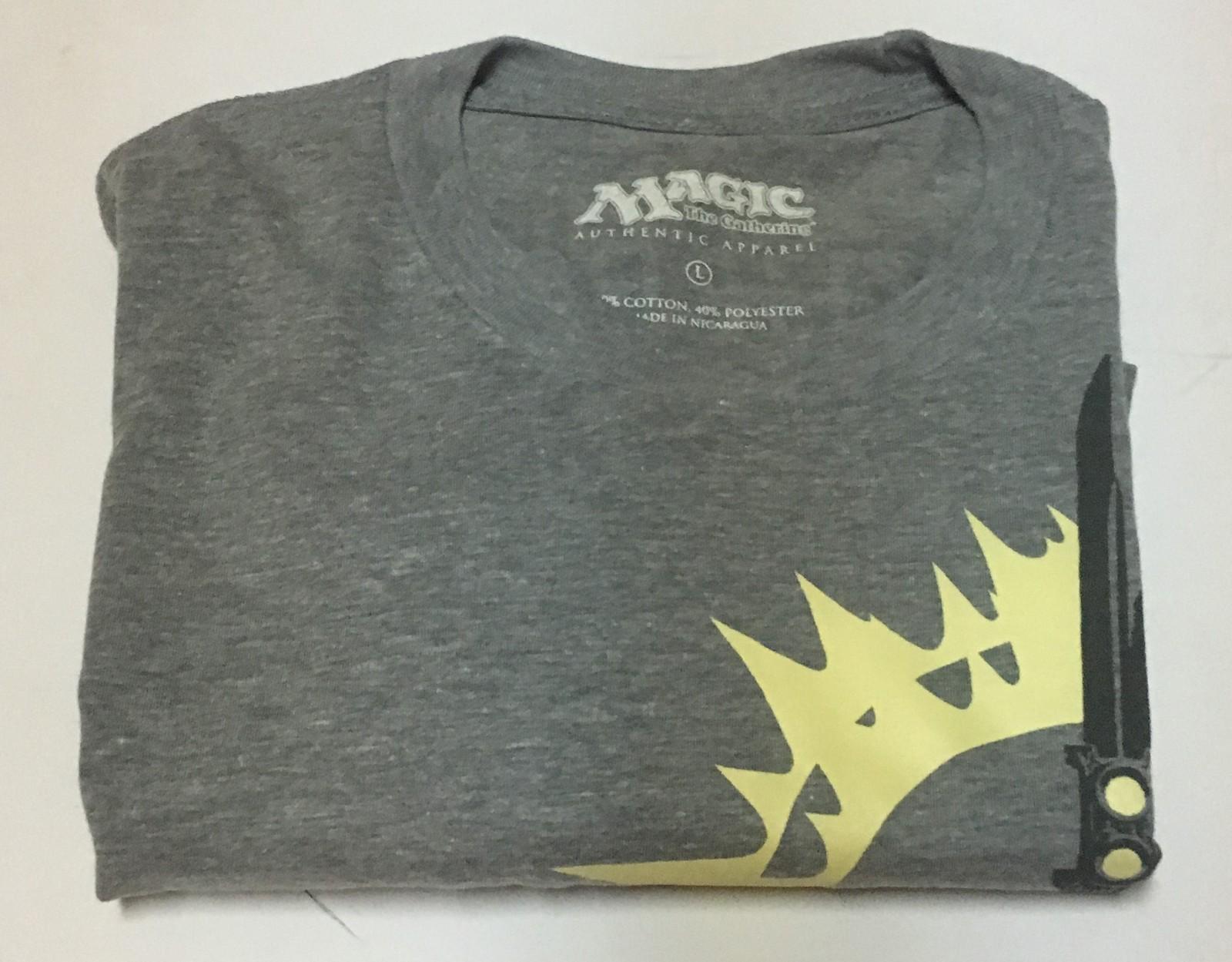 Magic the Gathering T-Shirt SZ L Free Shipping