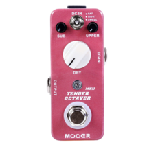 Mooer Tender Octaver MKII NEW Precise Guitar Modulation Effect Pedal Tru... - $72.00+