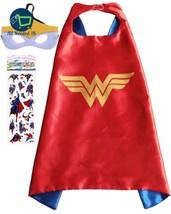 Superhero Costume and Dress Up for Kids Satin Cape & Felt Mask Marvel He... - $13.72