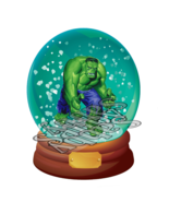Avenger Snow Dome A2-Digital-clipart-gift card-gift tags-banner-background.  - $4.99