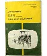 VTG John Deere RA4 4 Row Row Crop Cultivator Manual NEW in Plastic OM-N1... - $17.90