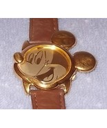 Collectible Lorus Ladies Mickey Mouse Head Watch Japan Battery Quartz - $24.95