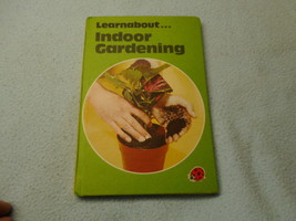 Vintage 1977  Lady Bird Book Learn About Indoor Gardening Series - $8.41