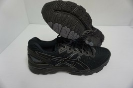 Asics womens gel kayano 23 onyx black carbon race shoes size 12 us - $157.64