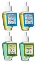 Bath and Body Works 4 Pack Wallflowers Fragrance Refill. 0.8 fl oz. Ange... - $25.99