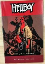 Hellboy Seed Of Destruction (2003) Dark Horse Comics Tpb VG+/FINE- - $11.87