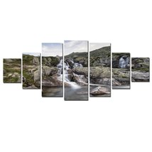 Startonight Huge Canvas Wall Art Mountain River... - $197.99