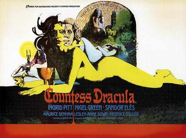 Primary image for Countess Dracula - 1971 - Movie Poster