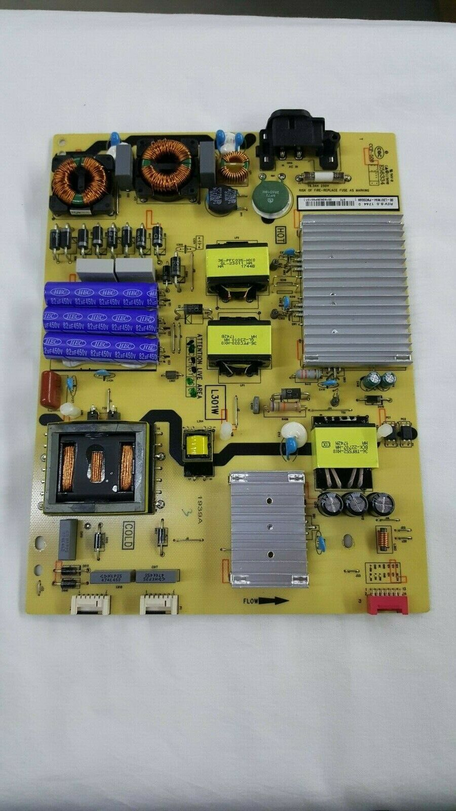 Primary image for TCL 65S401TBAA Power Supply Board 08-L301WA4-PW200AN