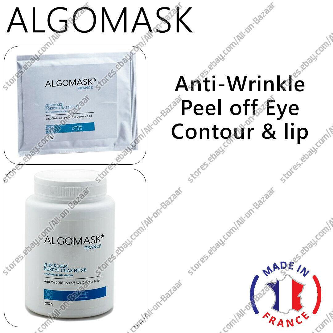 NEW ALGOMASK ANTI-WRINKLE PEEL OFF EYE CONTOUR & LIP 25/200 g. - $16.82 - $48.50