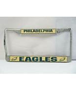 RARE Vintage Philadelphia Eagles Fan NFL Eagles license metal frame plate - $20.00
