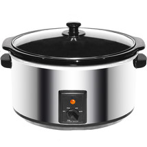 Brentwood 8.0 Quart Slow Cooker Stainless Steel - $69.50
