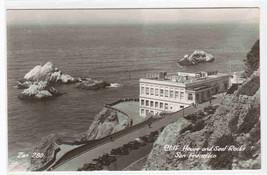 Cliff House Seal Rocks San Francisco CA RPPC postcard - $6.93