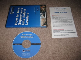 How To Turn Supervisors Into Safety Leaders - Business 21 PC CD-ROM Ready-Set-Go - $69.99