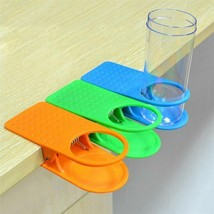 Drinking Cup Holder Clip Home Table Office Desk Coffee Mug Water Bottle ... - $9.88