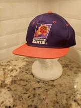 Phoenix Suns Vintage Plain Logo Snapback Hat 90s Youngan SVK  - $28.04