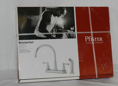 Pfister F0364SVC Bremerton Collection 2 handle Kitchen Faucet Polished Chrome