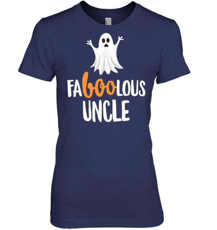 Faboolous Fabulous Uncle Halloween Tshirt