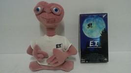 "E.T. The Extra Terrestrial  Doll Plush Universal Studios 11"" & E.T Movie New VHS - $9.13"