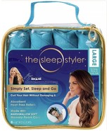 "The Sleep Styler Large 8-6"" Rollers for Long Thick or Curly Hair Heat Free - $18.99"