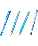 Cello Pens Butterflow Choose from 4 Variants Set of 10 each Ball Pens fr... - $10.81+