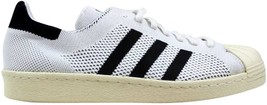 Adidas Superstar 80s Primeknit White/Black-Gold Metallic S82779 Men's SZ... - $94.77