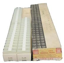 BOX OF 41 NEW ALLEN BRADLEY 1492-CD2 TERMINAL BLOCKS SER. A