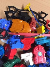Beyblades Lot: Blades, Launchers, String Launchers Parts Pieces by Hasb... - $41.73