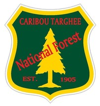 Caribou Targhee National Forest Sticker R3208 You Choose Size - $1.45+
