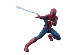 S.H.Figuarts Spider-Man Fur From Home Approximately ABS & PVC Action Figure - £63.32 GBP