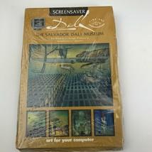 """NOS Salvador Dali Museum Screen Saver Vintage Windows Software 1997 3.5""""... - $19.98"""