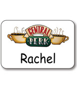 RACHEL CENTRAL PERK ON FRIENDS NAME BADGE PROP HALLOWEEN COSTUME PIN BACK - $12.46