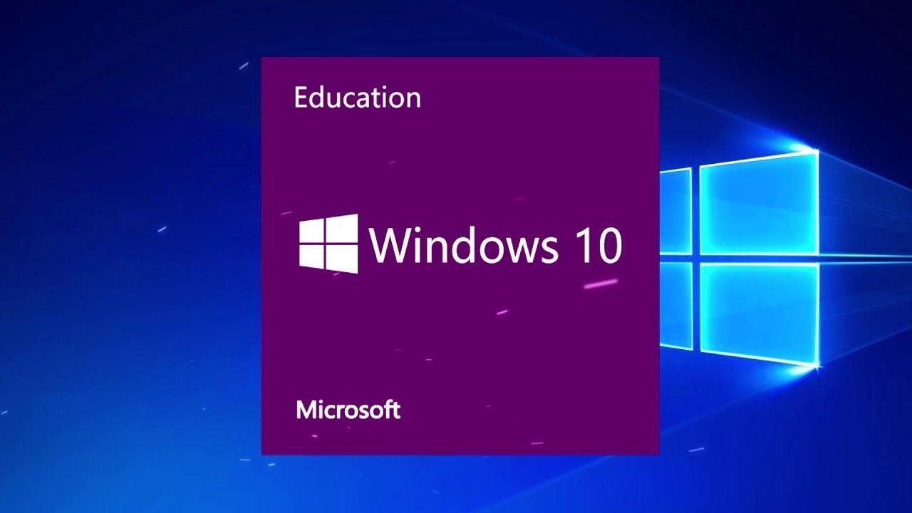 Microsoft Windows 10 Education Genuine Product Key INSTANT ...